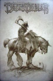 Death Dealer #3 Retail Incentive Sketch Variant 1:25 Frank Frazetta
